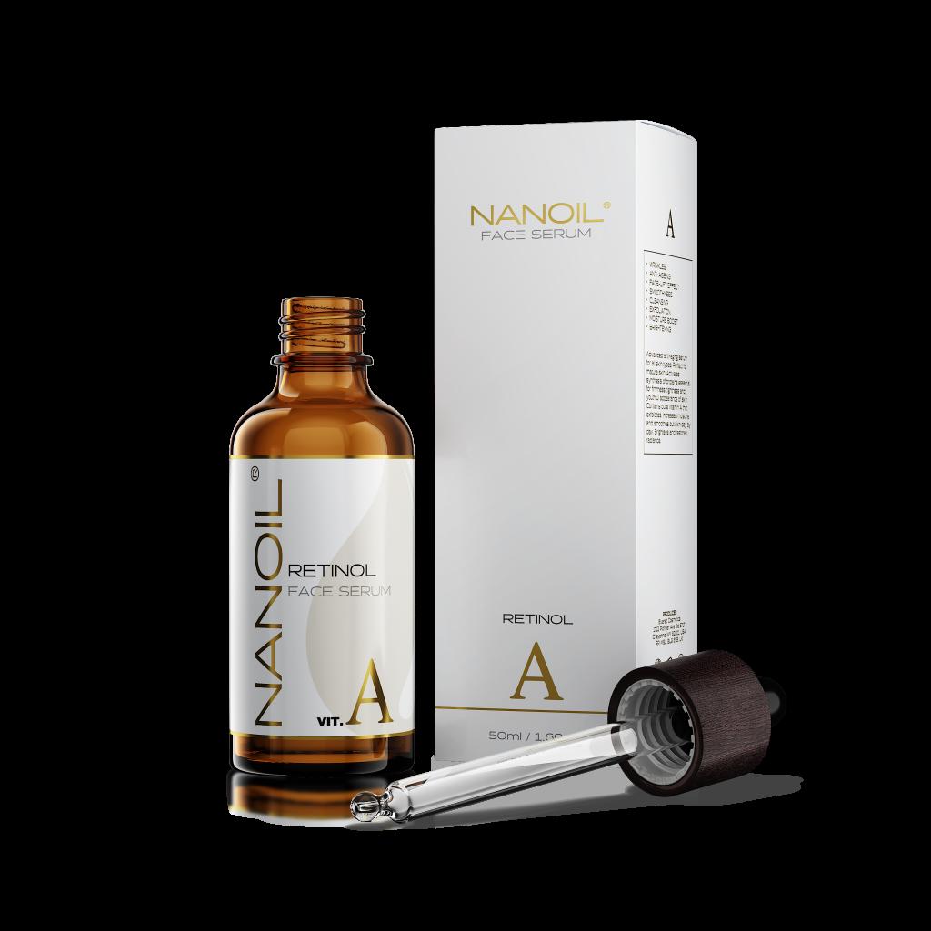 Nanoil das beste Gesichtsserum mit Retinol